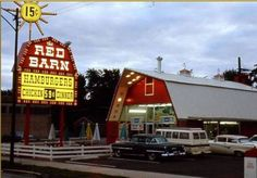 Anyone besides me remember the fast food chain known as the Red Barn, home of the Big Barney? Vintage Restaurant, Fast Food Restaurant, Restaurant Signs, Akron Ohio, Cleveland Ohio, Cleveland Rocks, Detroit Michigan, Cincinnati, Pittsburgh