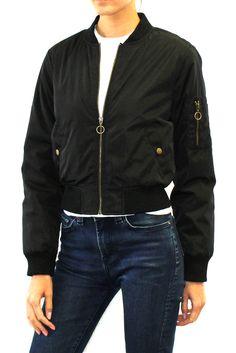 Classic Bomber Jacket  #bomberjacket #outerwear #flightjacket #jacket