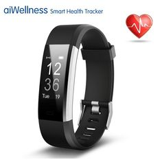 Fitness Tracker, Showyoo Heart Rate Monitor GPS Running Tracker Smart Bracelet Activity Tracker Bluetooth Pedometer Sleep Monitor Smartwatch for iPhone 8 7 7 Plus 6 Samsung Android iOS Tracker Fitness, Waterproof Fitness Tracker, Smartphone, Plus Fitness, Health Fitness, Uk Health, Activity Tracker Watch, Activity Monitor, Iphone 6