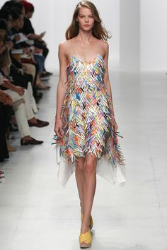 Chalayan Spring 2014 Ready-to-Wear Collection.
