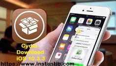Get the latest Cydia iOS 10.3.3 app on your iPhone via iNstant Jailbreak https://www.instantjb.com