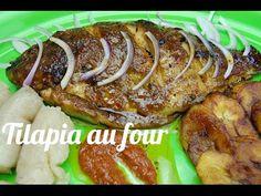 Recette de Tilapia au four - YouTube