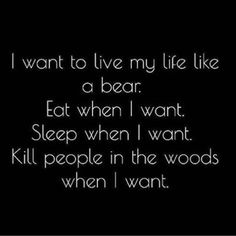 Goals. #lifegoals #thepoleroommaui #bear