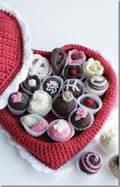 Free Crochet Patterns :: Box of Chocolates