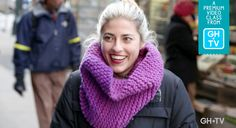 Learn To Knit Your First Easy, Cozy Infinity Scarf #GoodHousekeepingTV