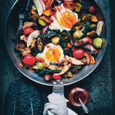Full vegetarian breakfast.