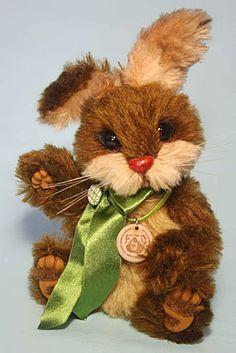 My handmade bunny, Herbert.  Last creation for 2011.