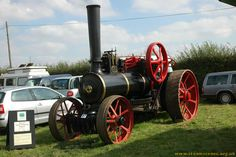 "Burrell Ploughing Engine, 777 ""The Earl"" at Haddenham Steam Rally 2006, Image 1 - Steam Scenes"