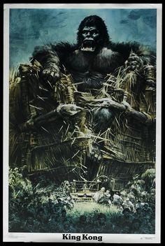 King Kong, 1976.