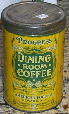 Progress Dining Room Coffee