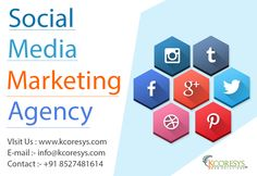 Creative #social #media #marketing #agency and consultant in india. Ensuring best results through #SMO and effective social media management for brands. For more details click here: http://www.kcoresys.com/