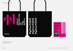 Build – Dynamic brand identity for Great Exhibition of the North, 2018