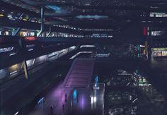 Cyberpunk Atmosphere, tacticalneuralimplant:  Megapolis by Hashika
