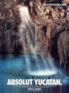 ABSOLUT #Yucatan #Publicidad
