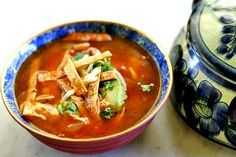 This soup is heavenly... Spicy, hearty yet full of fresh flavors. It is becoming a weekly staple in our household!