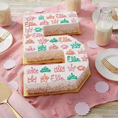Today a princess, tomorrow the queen. Bake letters and numbers fit for royalty with @WiltonCakes Countless Celebrations cake pan set!