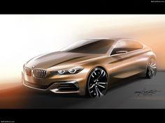 BMW Compact Sedan Concept 2015