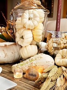 Thanksgiving Tablescapes: go timeless with whites this thanksgiving instead of orange and brownThanksgiving Tablescapes