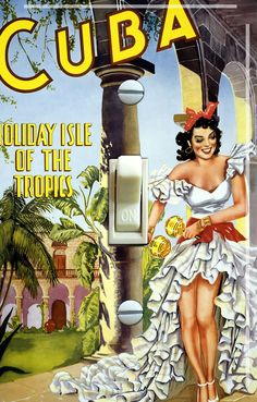 CUBA Flamenco Vintage Travel