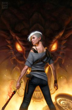 Forged in Fire by DSillustration on @DeviantArt