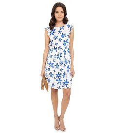 kensie Painted Daisy Dress KS4K7926