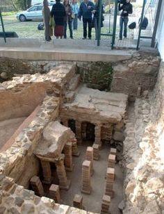 Baño romano en Asturias