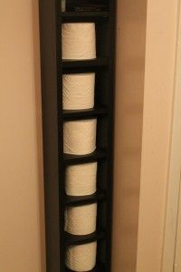"Healthy Simplicity - ""Hack"" toilet paper holder"