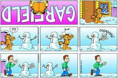 Garfield   Daily Comic Strip on February 27th, 2005