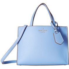 Kate Spade New York Thompson Street Sam (Fable Blue) Handbags ($298) ❤ liked on Polyvore featuring bags, handbags, shoulder bags, blue handbags, handbags shoulder bags, kate spade purses, kate spade and shoulder strap bag