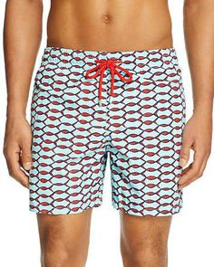 c77f6b00c1 Vilebrequin Moorea Fishing Net Swim Trunks Men - Bloomingdale's