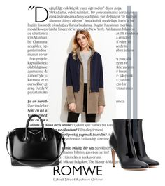 """""""ROMWE"""" by ratko1959 ❤ liked on Polyvore featuring Balmain, Givenchy and Gianvito Rossi"""