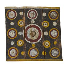 Early, Graphic Wooden Dart Board