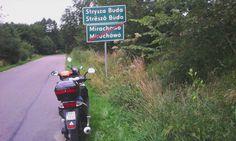 Strysza Buda miejsce gdzie znajduje się Kaszubski Park Miniatur. Wycieczka skuterami. Więcej na http://skuterowewyprawy.eu/kaszubski-park-miniatur
