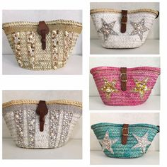 Cute Purses, Purses And Bags, Ethnic Bag, Boho Bags, Craft Bags, Basket Bag, Patchwork Bags, Denim Bag, Summer Bags