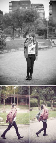 street style / Frankenweenie t-shirt / Halloween / Springfield  bárbara crespo  http://www.elblogdebarbaracrespo.com/
