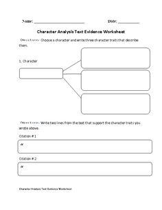 Plot Diagram Text Evidence Worksheet | Englishlinx.com Board ...