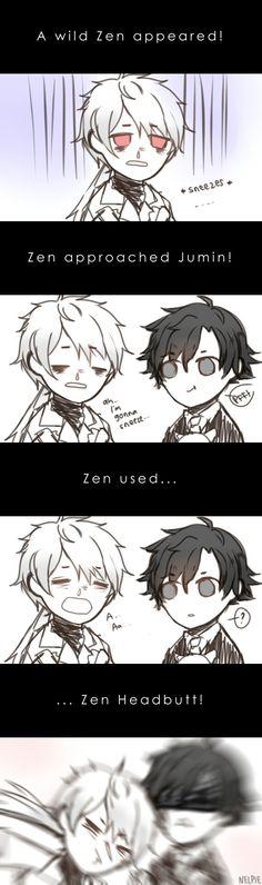 Zen! I choose you! Get rekt Jumin