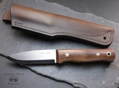 Bushcraft Knife / woodlore style / Survival by StoneyPathKnives