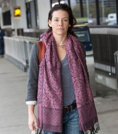 L'actrice Evangeline Lilly sans maquillage