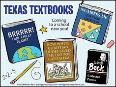 Texas Textbooks: coming to a school near YOU!