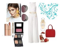 """""""Untitled #181"""" by vintagelady52 ❤ liked on Polyvore featuring Novis, WALL, Chanel, Elisabeth Bell, Charlotte Tilbury, CARGO, Bobbi Brown Cosmetics, NARS Cosmetics, Dr.Hauschka and Dolce&Gabbana"""