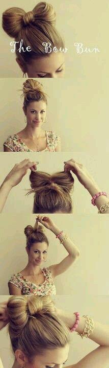 ¡Un lindo peinado!