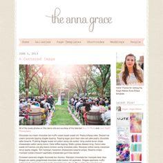 Anna Grace Blogging WordPress Theme