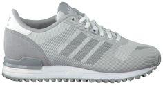 Grijze Adidas Sneakers ZX 700 WEAVE