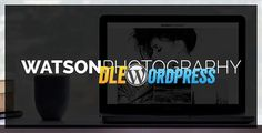 Watson v1.2.4  Photography WordPress Theme Free at DLEWordPRess