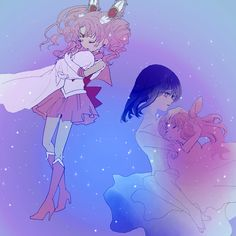 Find images and videos about sailor moon, sailor saturn and Chibiusa on We Heart It - the app to get lost in what you love. Sailor Moons, Sailor Moon Crystal, Sailor Chibi Moon, Sailor Saturn, Fan Art, Sailor Scouts, Magical Girl, Retro, Otaku