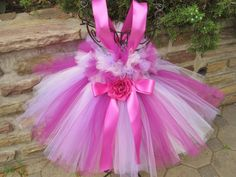 FUCHSIA PANSY IVORY Bit of Fluff Baby and Ivory Baby by ElsaSieron, $63.00