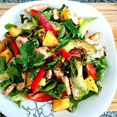 Chicken Mango and Avocado Salad