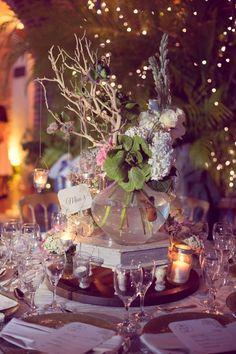 creative ways to do your vintage wedding centerpieces