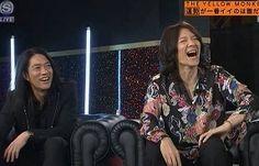 大笑いの吉井さん  アニーもニッコリ
